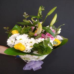 Ramo de flores variada.