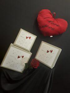 Conjunto de cajas decorativas para arreglos florales.